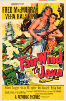Fair Wind to Java 1953 DVD - Fred MacMurray / Vera Ralston